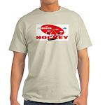 Rednexk Hockey Ash Grey T-Shirt