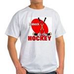 Rednexk Hockey Ash Grey T-Shirt