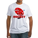 Rednexk Hockey Fitted T-Shirt