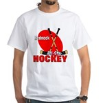 Rednexk Hockey White T-Shirt