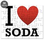 I Love Soda Puzzle