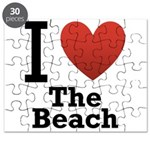 I Love the Beach Puzzle