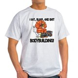 Unique Bodybuilding cartoons T-Shirt
