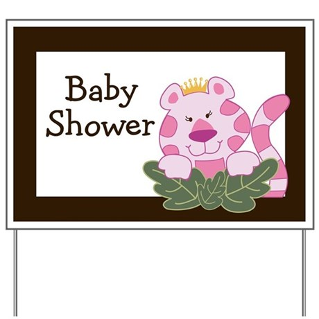 baby shower gifts baby shower yard signs queen of the jungle baby