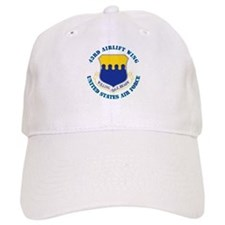 43rd Airlift Wing with Text Baseball Cap