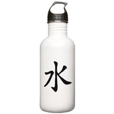chinese signs 3 Water Bottle