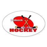 Rednexk Hockey Oval Sticker