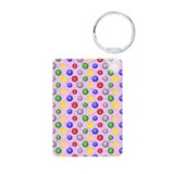 Bingo Ball Pink Small Keychains