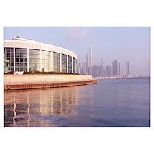 Illinois, Chicago, Shedd Aquarium, Building struct