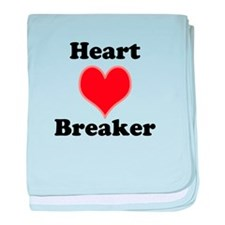 Heart Breaker baby blanket