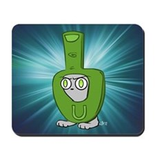 Foamy Finger Costume Mousepad