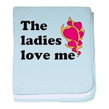 Ladies Love me baby blanket