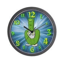 Foamy Finger Costume Wall Clock