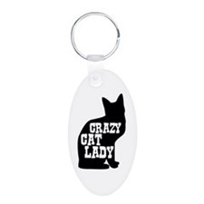 Crazy Cat Lady Keychains