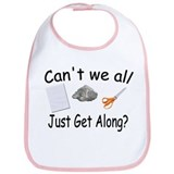 Paper, Rock, Scissors Bib