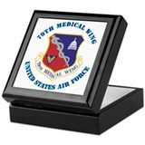 79th Medical Wing with Text Keepsake Box