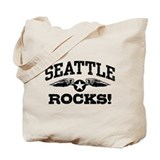Seattle Rocks Tote Bag
