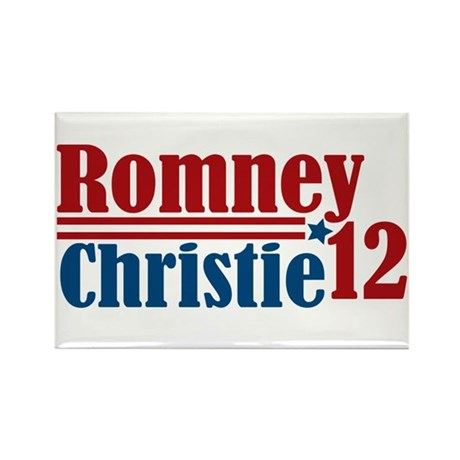 Romney Christie 2012 Rectangle Magnet (10 pack)