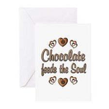 Chocolate Feeds Souls Greeting Cards (Pk of 10)