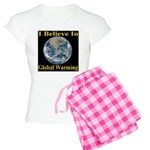 I Believe In Global Warming Women's Light Pajamas