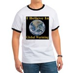 I Believe In Global Warming Ringer T