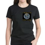 I Believe In Global Warming Women's Dark T-Shirt