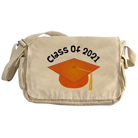 Class of 2021 (Orange) Messenger Bag