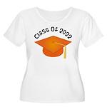 Class of 2022 (Orange) Women's Plus Size Scoop Nec