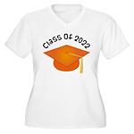 Class of 2022 (Orange) Women's Plus Size V-Neck T-
