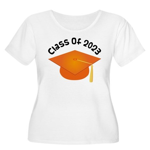 Class of 2023 (Orange) Women's Plus Size Scoop Nec