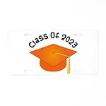 Class of 2023 (Orange) Aluminum License Plate
