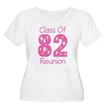 Class of 1982 Reunion Women's Plus Size Scoop Neck