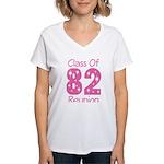 Class of 1982 Reunion Women's V-Neck T-Shirt