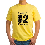 Class of 1982 Reunion Yellow T-Shirt