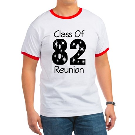 Class of 1982 Reunion Ringer T