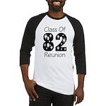 Class of 1982 Reunion Baseball Jersey