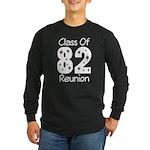 Class of 1982 Reunion Long Sleeve Dark T-Shirt