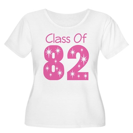 Class of 1982 Women's Plus Size Scoop Neck T-Shirt