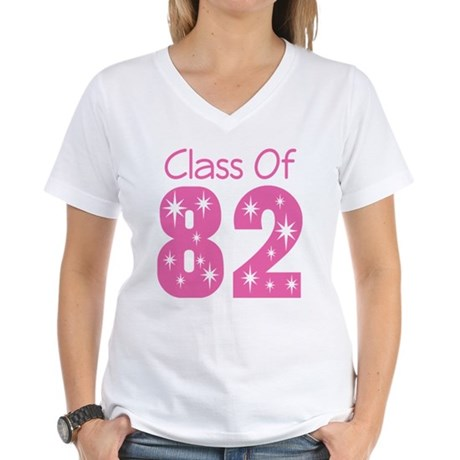 Class of 1982 Women's V-Neck T-Shirt