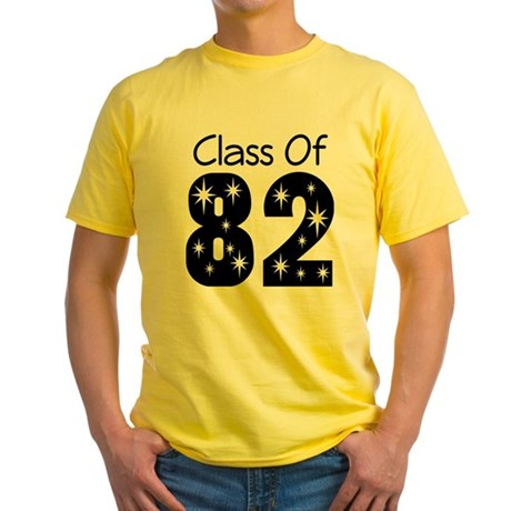 Class of 1982 Yellow T-Shirt