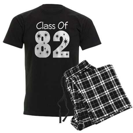 Class of 1982 Men's Dark Pajamas