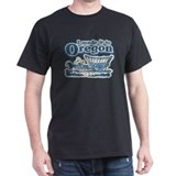 I Made it to Oregon! Black T-Shirt