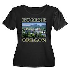 eugene oregon Plus Size T-Shirt