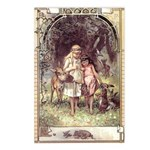 Vogel's Snow White & Rose Red Postcards (Package o