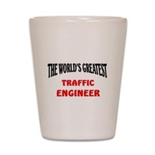 Cute Traffic engineers Shot Glass