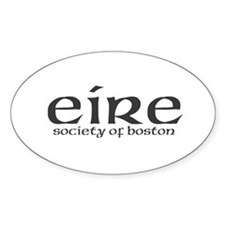 Eire Society of Boston Oval Decal