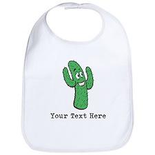 Desert Cacti. Custom Text. Bib