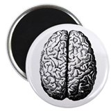Brain II 2.25&quot; Magnet (10 pack)