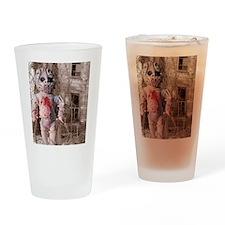 Scary Nigel doll Drinking Glass