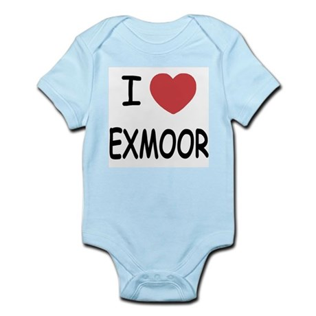 I heart exmoor Infant Bodysuit